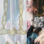Элитная вуаль в стиле ЛУИ в классическом стиле