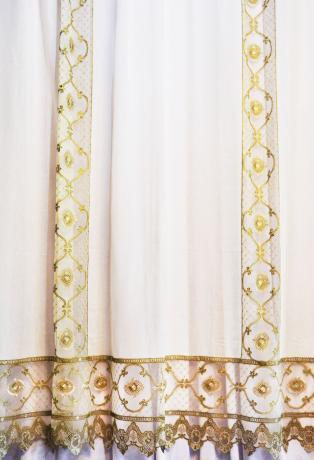 Вуаль RICH Linen01001-A в стиле ЛУИ в классическом стиле