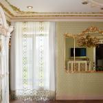 Эксклюзивная вуаль для интерьеров в классическом и дворцовом стиле