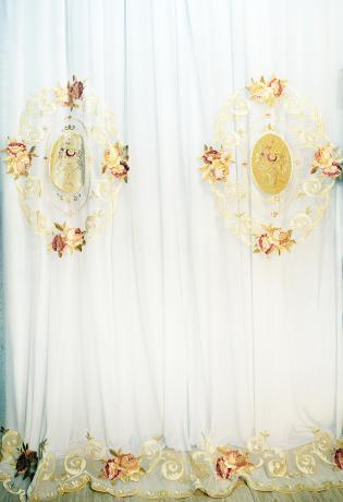 Вуаль 20150203-T012 в стиле мадам Пампадур